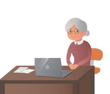 Older women with laptop
